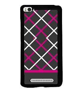 Fiobs Designer Back Case Cover for Xiaomi Redmi Mi 4i :: Redmi Mi4i (jaipur rajasthan african america cross pattern)