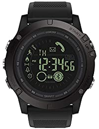 Sports Smart Watch, GOKOO S10 Pro Digital Outdoor Sports Smartwatch for Men with Pedometer, Calorie Counter, Distance, Stopwatch, Waterproof, Notifications Compatible