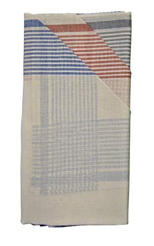 Teichmann 7 Herren Stoff-Taschentücher in diversen zeitlosen wählbaren Designs (40 cm x 40 cm, Farbvariante 3)