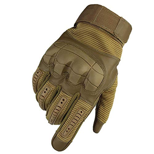 SJF Kletterhandschuhe Seil Handschuhe, Touchscreen Gummi knöchel, geeignet zum Klettern felsen/bäume/wände/Klettern, weich, komfortabel, flexibel, langlebig,S -
