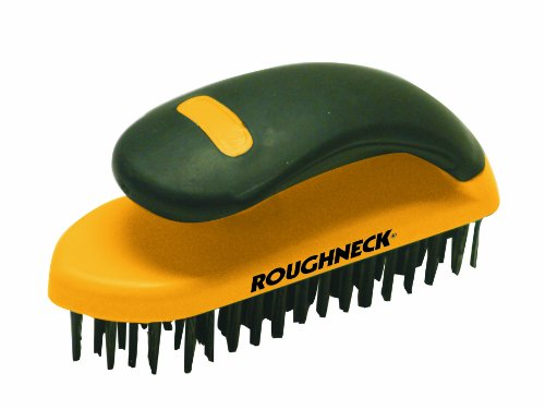 Roughneck 52050 Block Wire Brush with Handle Test