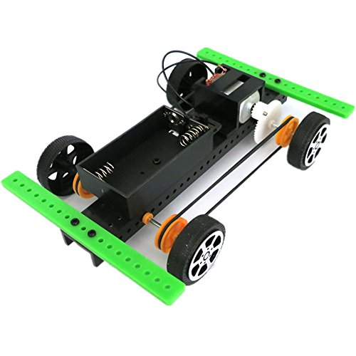 hahuha Toy  Dekompressionsspielzeug,1 Satz Mini angetriebenes Spielzeug DIY Car Kit Kinder pädagogisches Gadget Hobby lustig - Fußpflege-mini-kit