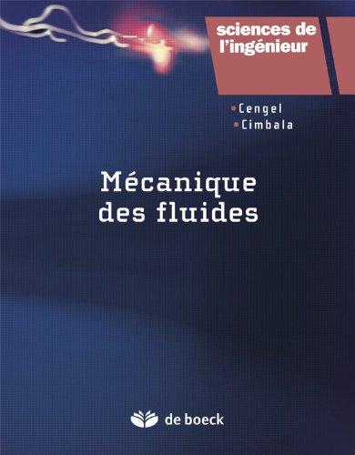 Mécanique des fluides par Y. A. Cengel