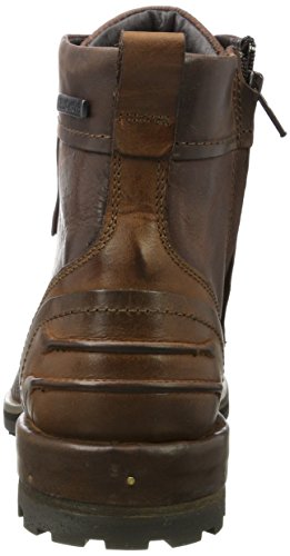 Yellow Cab Herren Tear M Biker Boots Rot (Bordeau)