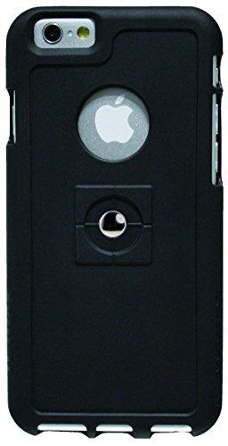 Tetrax 066139 Halterung - Magnetadapter + Back Case - Bundle SMART + XCASE - Apple iPhone 6 - Schwarz -