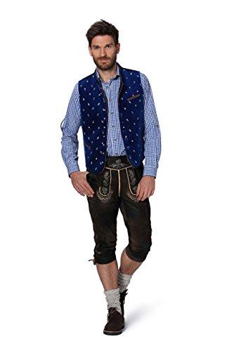 Stockerpoint - Herren Trachten Weste in verschiedenen Farbtönen, Calzado, Größe:64, Farbe:Royale - 2