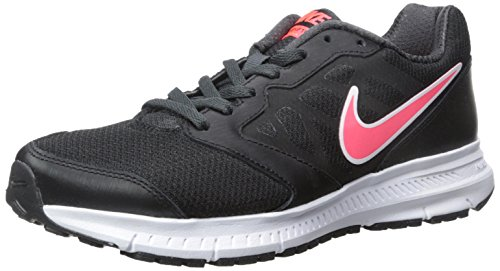Nike Wmns Downshifter 6 Scarpe da Ginnastica, Donna, Nero (Black/Hyper Punch-Anthracite 002), 40.5