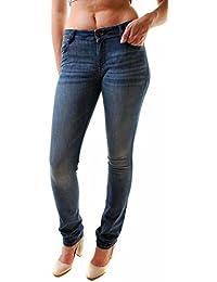 DL1961 Femmes Grace Grande Hauteur Tout Droit Jeans Bleu Taille 26