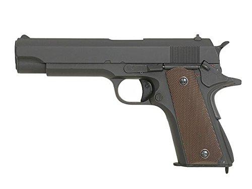 AIRSOFT PISTOLE VON CYMA AEP 123 CM, ELEKTRISCH, SEMI UND FULL-AUTO HOP UP 0.37 JOULE!!!!!! - Semi Auto Air-pistole