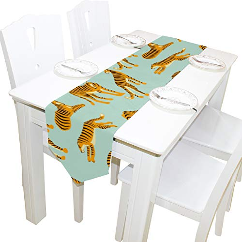Mode Accessary Kommode Schal Tuch Abdeckung Tischläufer Tischdecke Tischset Küche Esszimmer Wohnzimmer Home Hochzeit Bankett Dekor Indoor 13x90 Zoll ()