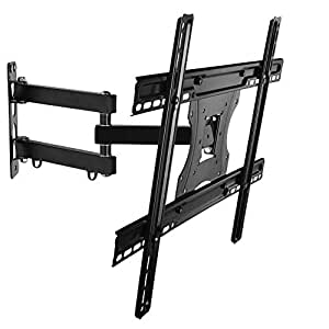 Support mural tv pivotant inclinable pour cran plat 28 58 pouces 71 amaz - Support mural tv 70 pouces ...
