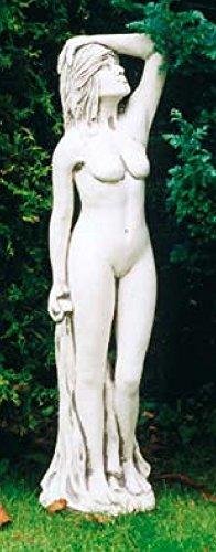 Akt aufblickend (S211) Aktfiguren Gartenfiguren Frauen Skulptur Statuen Steinguss 98 cm