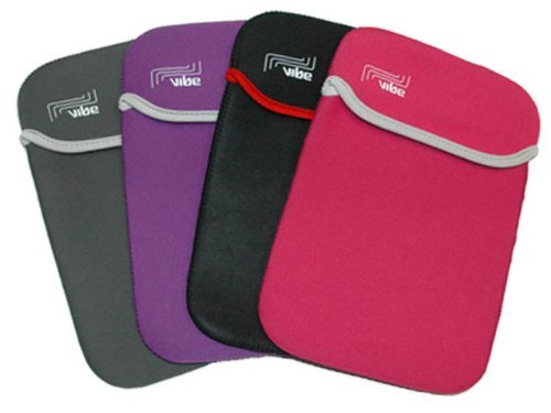 GREY REVERSIBLE NEOPRENE SLEEVE CASE COVER POUCH 11