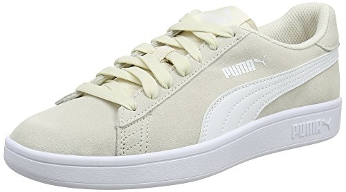 Puma Smash V2, Chaussures de Cross Mixte Adulte, Beige (Birch White), 47 EU