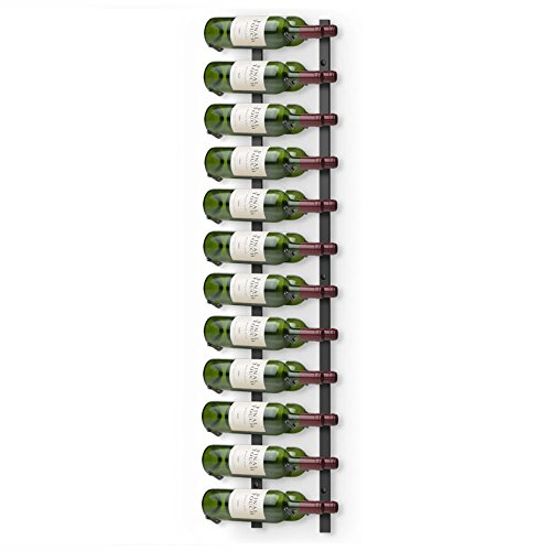 Final Touch 24 Bottle Large Wall Mounted Metal Wine Rack by Final Touch