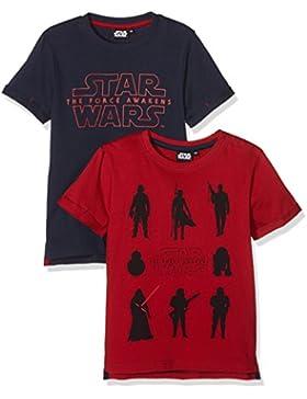 FABTASTICS Unisex TShirt Disney STAR WARS Darth Vader 2er Pack