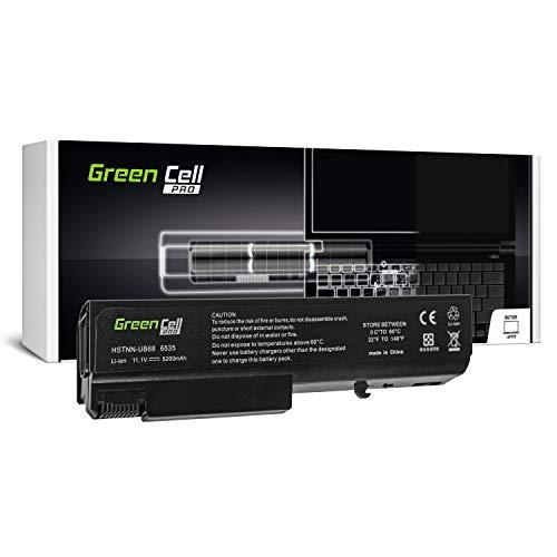 Green Cell Pro Serie TD06 TD09 Laptop Akku für HP EliteBook 6930p 8440p 8440w ProBook 6450b 6540b 6550b 6555b Compaq 6530b 6730b 6735b (Original Samsung SDI Zellen, 6 Zellen, 5200mAh, Schwarz) Elitebook 8440p Laptop