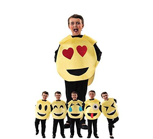 Imagen de disfraz de emoticono para niños