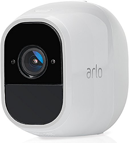 Arlo Pro 2 VMC4030P Wireless Home Security Add-On Camera, Rechargeable, Night Vision, Indoor/Outdoor, 1080p, 2-Way Talk, Wall Mount, Cloud Storage Included, Works with Arlo Pro Base Station