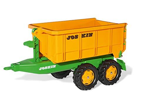 Rolly Toys rollyContainer Joskin (Hakenabroll-Kipper mit Absetzmulde, Zweiachsanhänger, für Kinder von 3-10 Jahren) 123216