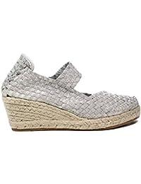 Woz UP317 ARGENTO sandalo elastico corda argento nuova collezione primavera estate 2017