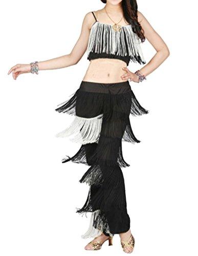 Fringe Fransen Latein Tanz Kostüm (M)