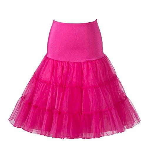 Kostüm Rosen Flamingo Mit Kleid - Boolavard TM 1950's 26