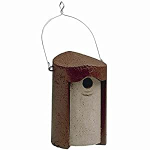 Erdtmanns Schwegler 102 Nisthöhle, Einflugloch 32 mm, aus Holzbeton