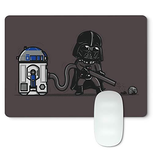 Alfombrilla ratón Star Wars R2D2 aspiradora, goma