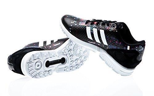 adidas  Zx Flux,  Damen Sneakers core black-ftwr white-core black