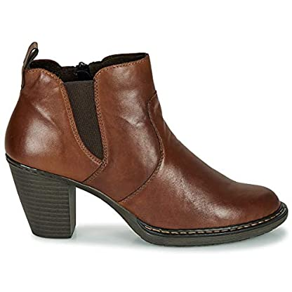 Rieker 55284-26 Ankle Boots/Boots Women Brown Ankle Boots Shoes 2