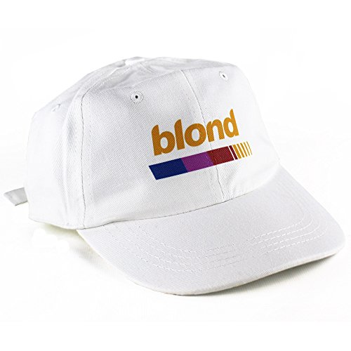 Blond 6 Panel Casquette