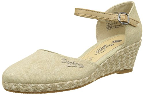 Dockers by Gerli Damen 36IS201-706 Slingback, Beige (Desert 460), 39 EU