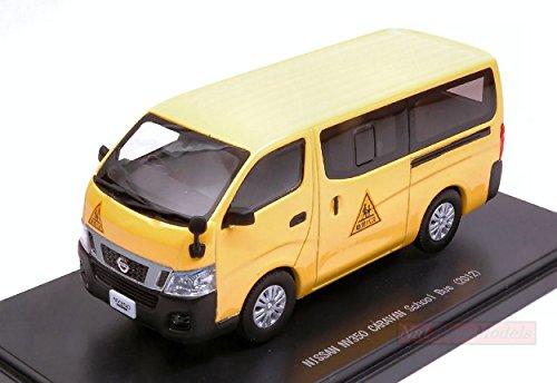 EBBRO EB45597 Nissan NV350 Caravan School Bus 2012 Yellow 1:43 DIE CAST Model