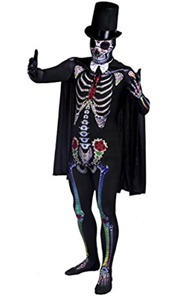 4e466727733 WOMEN'S DAY OF THE DEAD COSTUME - LADIES HALLOWEEN SUGAR SKELETON ...