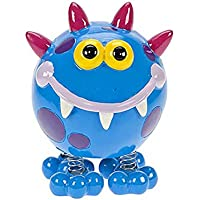 Cute Blue Monster Childrens Piggy Bank Money Box Gift for Boys or Girls