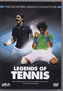 Sporting Greats - Legends of Tennis - Roger Federer and Rafael Nadal (DVD)