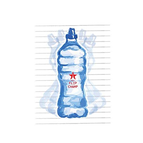 Epic Watter Bottle Flip Champ - Damen T-Shirt von Kater Likoli Weiß