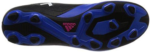 adidas Ace 17.4 Fxg, Chaussures de Futsal Homme Noir (Core Black/footwear White/Blue)