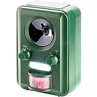 VOSS.sonic 2000 Ultraschall Abwehr  mit Solarbetrieb  und Blitz gegen Katzen, Hunde, Marder, Tierabwehr | Katzenschreck ,Hundeschreck, Marderschreck | Deutscher Hersteller