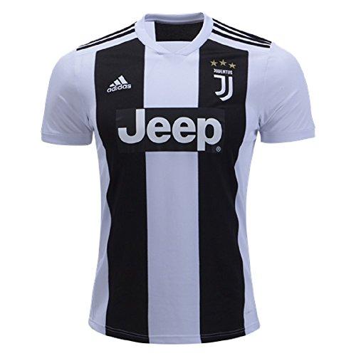adidas Fußball Jugend Juventus FC Home Jersey, Jungen, Soccer Youth Juventus FC Home Jersey, schwarz, X-Large -