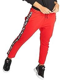 pantaloni tuta fila rossi