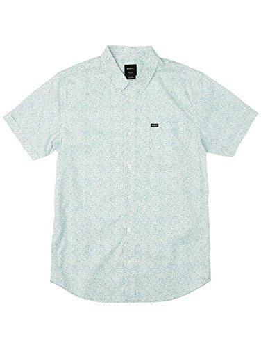 Herren Hemd kurz RVCA Speckles Hemd Antique White