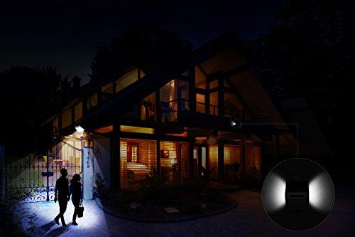 Maxinda luci solari lampada wireless ad energia solare da esterno