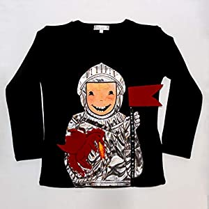 ZIEGFELD SHROBLA98 - Camiseta, unisex, para niños, multicolor, 98