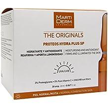 Martiderm The Originals Proteos Hydra Plus SP - Ampollas Antiedad hidratantes y antioxidantes, Protección UVA