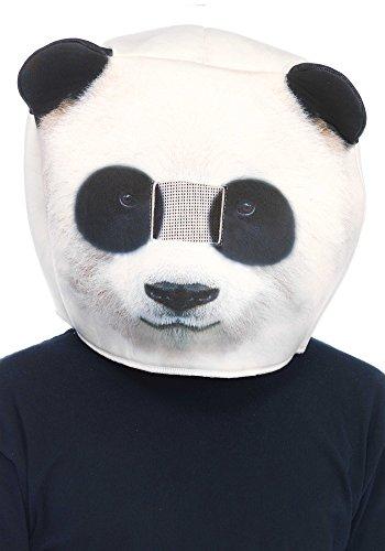 LEG AVENUE 2163 - Foam panda mask, Einheitsgröße -