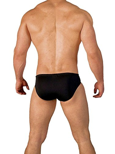 GBGB Herren Verano Swim Brief Swimwear Red/Black Schwarz / Rot