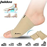 Jukkre Arch Support Flat Feet Pain Relief Plantar Fasciitis Foot Shoe Gel Insole