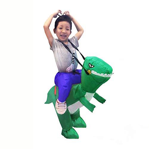 Sxwz Halloween aufblasbare Kleidung, Centaur Orc Adult Cosplay Weihnachten Karneval Eltern-Kind-Performance Party Kostüm,B,80/120cm (Centaur Kostüm Kinder)